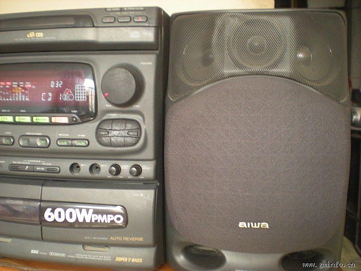 爱华caw20录音机电路图